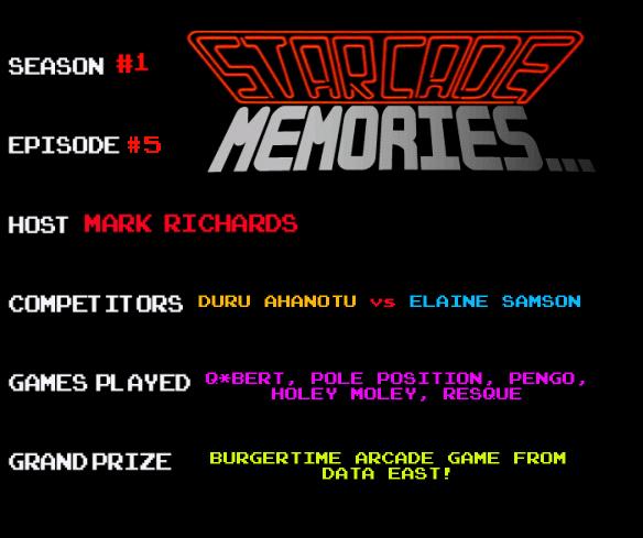 starcadeMEMORIES 5