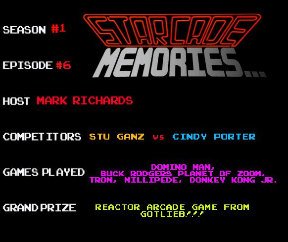 STARCADE MEMORIES 6