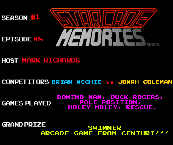 STARCADE MEMORIES 8