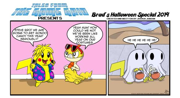 Brad Halloween Special Short 2014 done