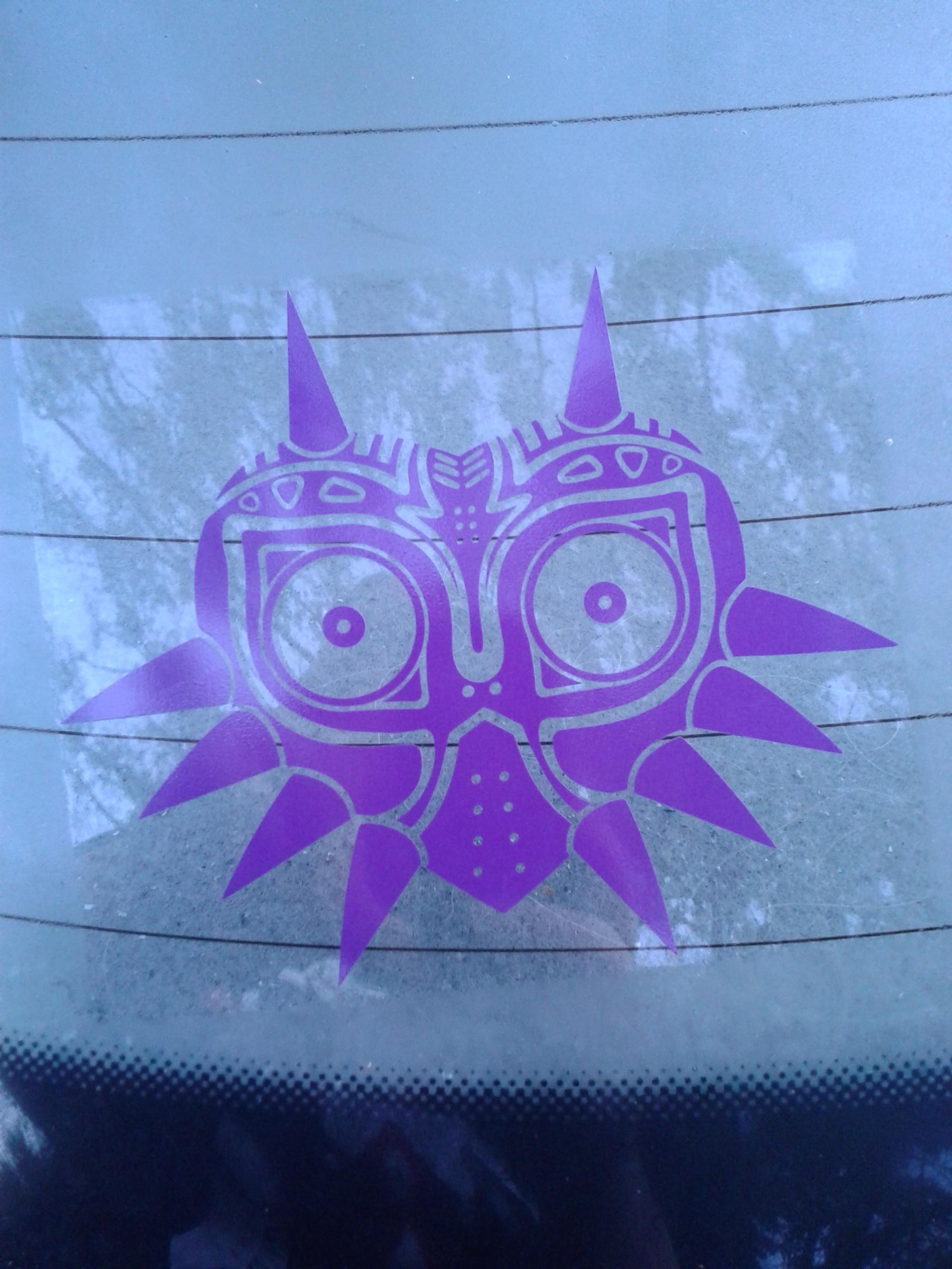 Zelda Majoras Mask Skin Decal By Yoonek Graphics The Arcade Archives