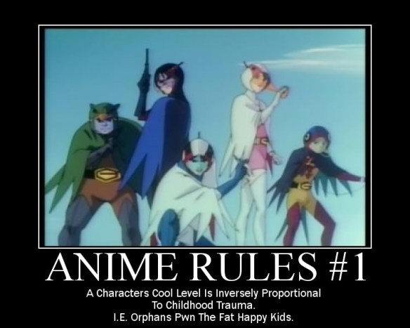 anime rule #1