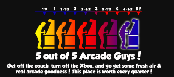 arcade guy rating system 5 out of 5