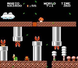 Lost Levels screen 2