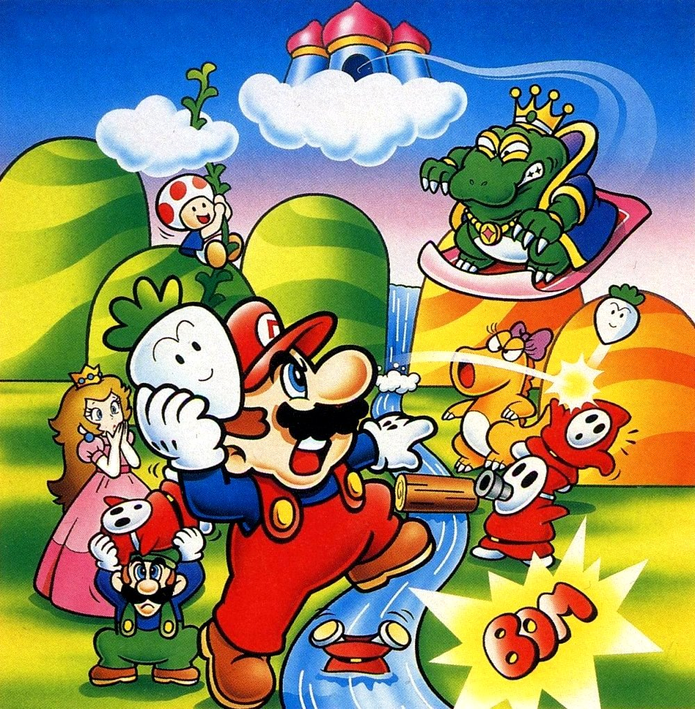 What Year Was Yoshi S Island Invented