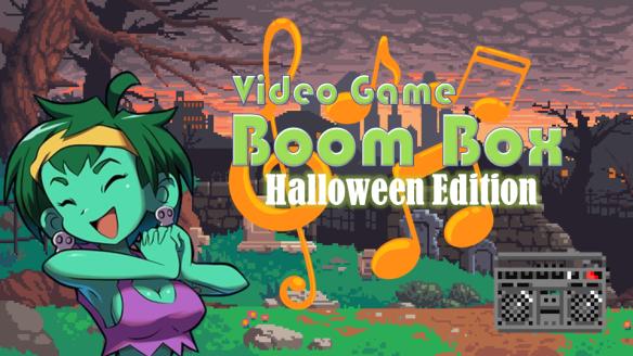 Video Game Boom Box Halloween