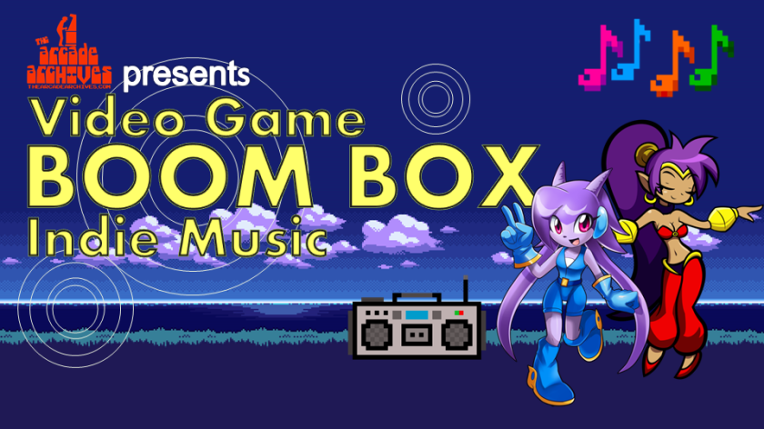Video Game BoomBox Indie Music logo