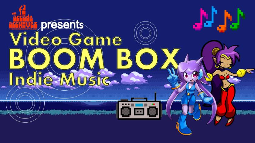 Video Game BoomBox Indie Music logo