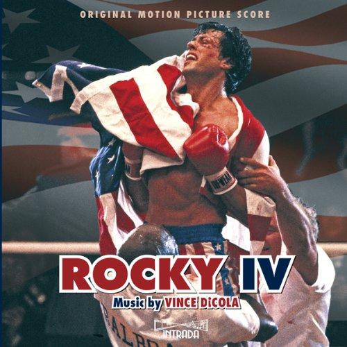 Rocky 4 Score Album Cover