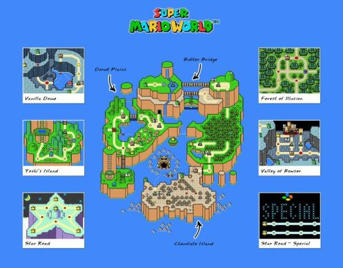 smw-dinosaur-land-map