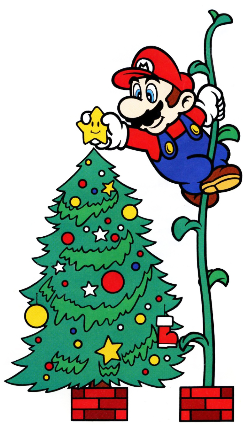mario-beanstalk-christmas-tree