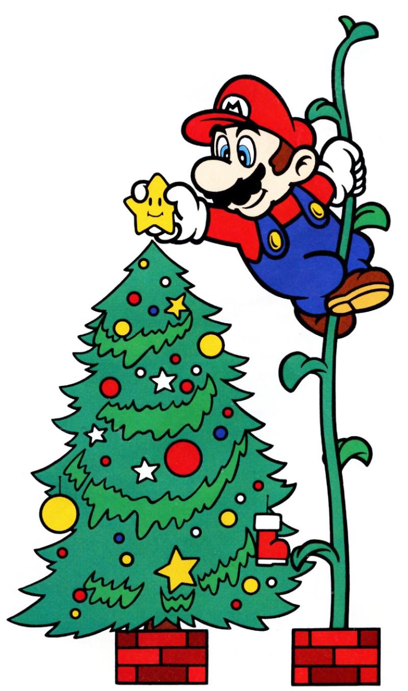 mario-beanstalk-christmas-tree