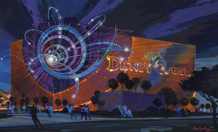 Tim Delaney Disney Quest