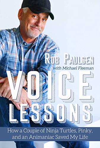 Voice Lessons Rob Paulsen Book cover